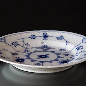Blue traditional flat plate15,5 cm, Blue Fluted Bing & Grondahl model no. 28 A | No. 1415615 | Alt. 4815-28A | DPH Trading