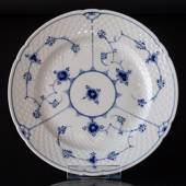 Blue traditional flat plate 24 cm, Blue Fluted Bing & Grondahl
