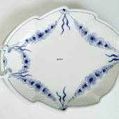 Empire tableware leaf-shaped pickle dish, small 19cm