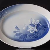 Oval dish Christmas rose Service 40,5 cm Bing & Grondahl