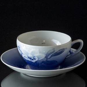 Tea cup WITH saucer Christmas rose Service Bing & Grondahl | No. 1435473 | Alt. 4835-473 | DPH Trading