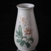 Vase with Flower light colors Christmas Rose serviceBing & Grondahl