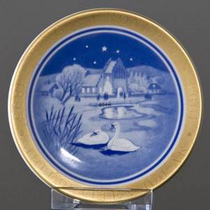 1895-1995 Christmas in the Country, Bing & Grondahl Centennial plaquette no.9 | Year 1995 | No. 1451709 | DPH Trading