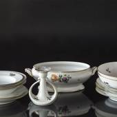 Royal Copenhagen Saxon Flower tableware, coffee and dinner set, Various ava...
