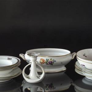 Royal Copenhagen Saxon Flower tableware, coffee and dinner set, Various available | No. 1500101 | DPH Trading