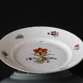 Bing & Grondahl Saxon Flower lunch plate 21 cm