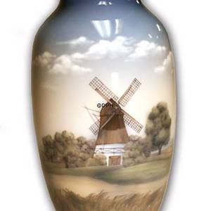 Vase with mill, Royal Copenhagen | No. 1549806 | DPH Trading