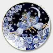 Bing & Grondahl Snow fairies Plates