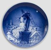 1974 Desiree Svend Jensen Christmas plate