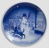 1977 Desiree Svend Jensen Christmas plate