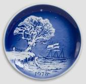 1978 Desiree Svend Jensen Christmas plate