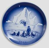 1981 Desiree Svend Jensen Christmas plate
