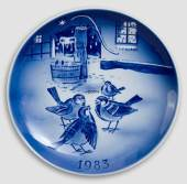 Christmas plates Desiree Svend Jensen