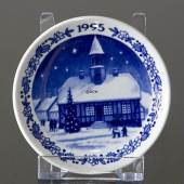 Ornament - Christmas Plaquette Royal Copenhagen