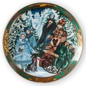 Christmas in Denmark Plate Royal Copenhagen