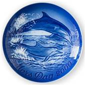 B&G Mother's day plate 2000 Dolphins