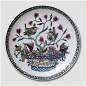 "Hutschenreuter  Monthly plate ""January"""