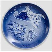Decorative plates - Christmas plate 1976 Desiree Svend Jensen