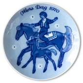 Porsgrund Mother's Day Plate 1970