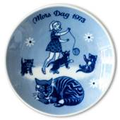 Porsgrund Mother's Day Plate 1973