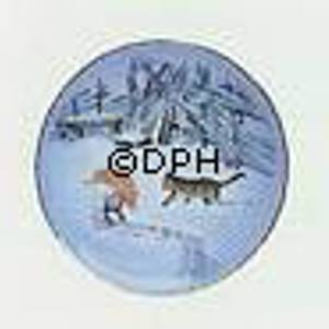 Wiberg Christmas Service, ornament with pixie and cat | No. 1825701 | Alt. 3503-5709 | DPH Trading