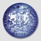 2004 Royal Copenhagen Millennium plate, Children on Safari