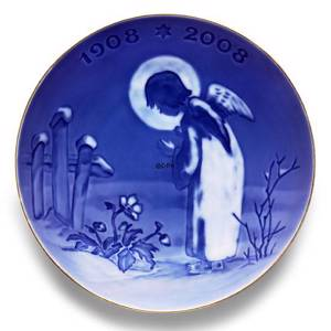 2005 Centennial plate, Royal Copenhagen , Peaceful Motif