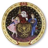 Royal Copenhagen, hearts of Christmas series plate 2009, Hearts of Hon...