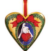 Royal Copenhagen Annual Heart 2007, The Dove of my Heart