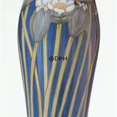 Vase with waterlily, Royal Copenhagen