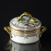 Flora Danica bowl with lid, Royal Copenhagen