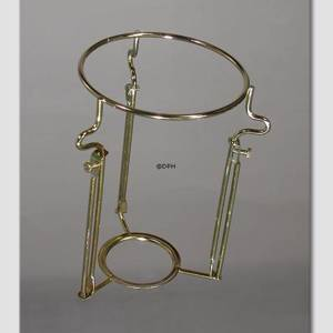 Extra durable lampshade-rack, Brass (for E14 sockedt with rings Ø31mm)