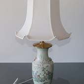 Chinese semi antique table lamp