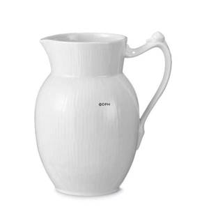 White Plain, Jug, capacity 70 cl, Royal Copenhagen | No. 2408442 | Alt. 1017393 | DPH Trading