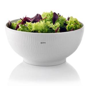 White Plain, salad bowl, capacity 310 cl., Royal Copenhagen