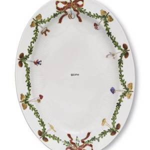Starfluted Christmas, Oval dish, Royal Copenhagen