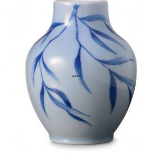 Vase with bamboo leaves, Royal Copenhagen | No. 2521815 | DPH Trading