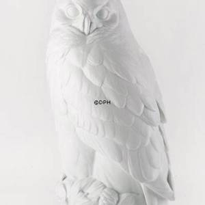 White Horned Owl, Royal Copenhagen bird figurine