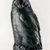 Black Horned Owl, Royal Copenhagen fugle figurine