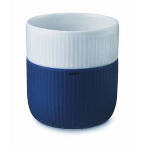 Contrast mug, royal blue, Royal Copenhagen, capacity 33 cl.