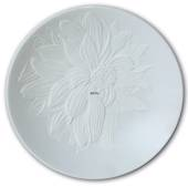 The Art of Giving Flowers, plate with relief, 'Cameo', Royal Copenhagen