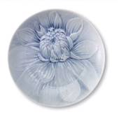 The Art of Giving Flowers, plate with light blue relief, 'Dawn Skye', ...