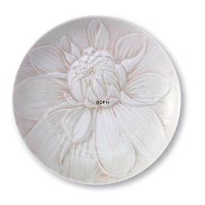 The Art of Giving Flowers, plate with rose relief, Coralle, Royal Copenhagen | No. 2663132 | DPH Trading