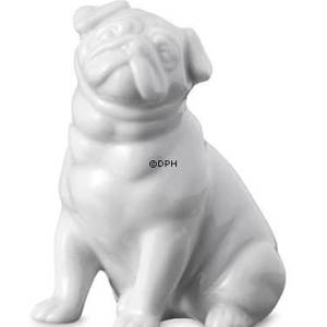 Pug, Royal Copenhagen dog figurine | No. 2670041 | DPH Trading