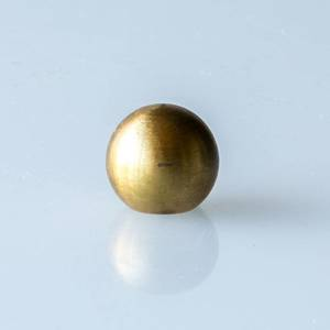 Brass ball with internal screw thread, micro (M6) | No. 269 | DPH Trading