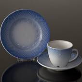 Blue Tone Hotel, Coffee Cup and Saucer ONLY, capacity 12,5 cl., Bing & Gron...
