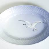 Service Seagull without gold, oval dish 35cm