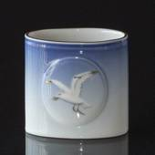 Seagull Service with gold, cup/vase, Bing & Grondahl - Royal Copenhagen