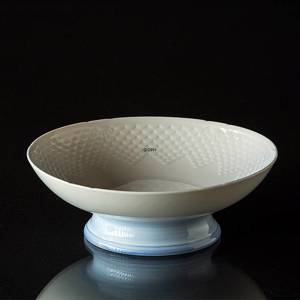 Seagull Service without gold, Cake Dish on foot, Bing & Grondahl 20cm | No. 3-223-U | DPH Trading