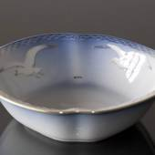 Seagull Service with gold, salad bowl, Bing & Grondahl - Royal Copenhagen 2...